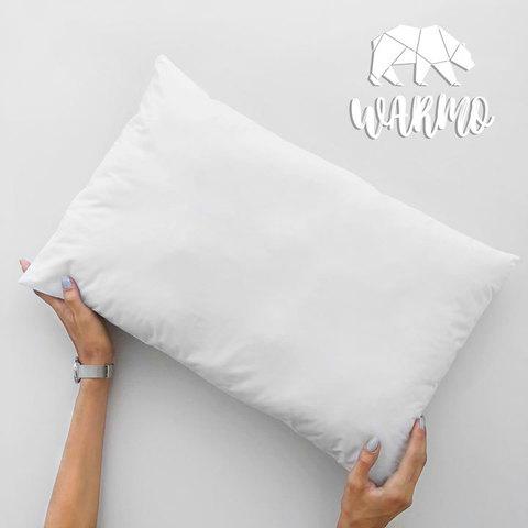Фото товару Комлект Ковдра + Товста подушка в дитяче ліжечко (Італійський батист + Штучний лебединий пух/Мікроволокно)