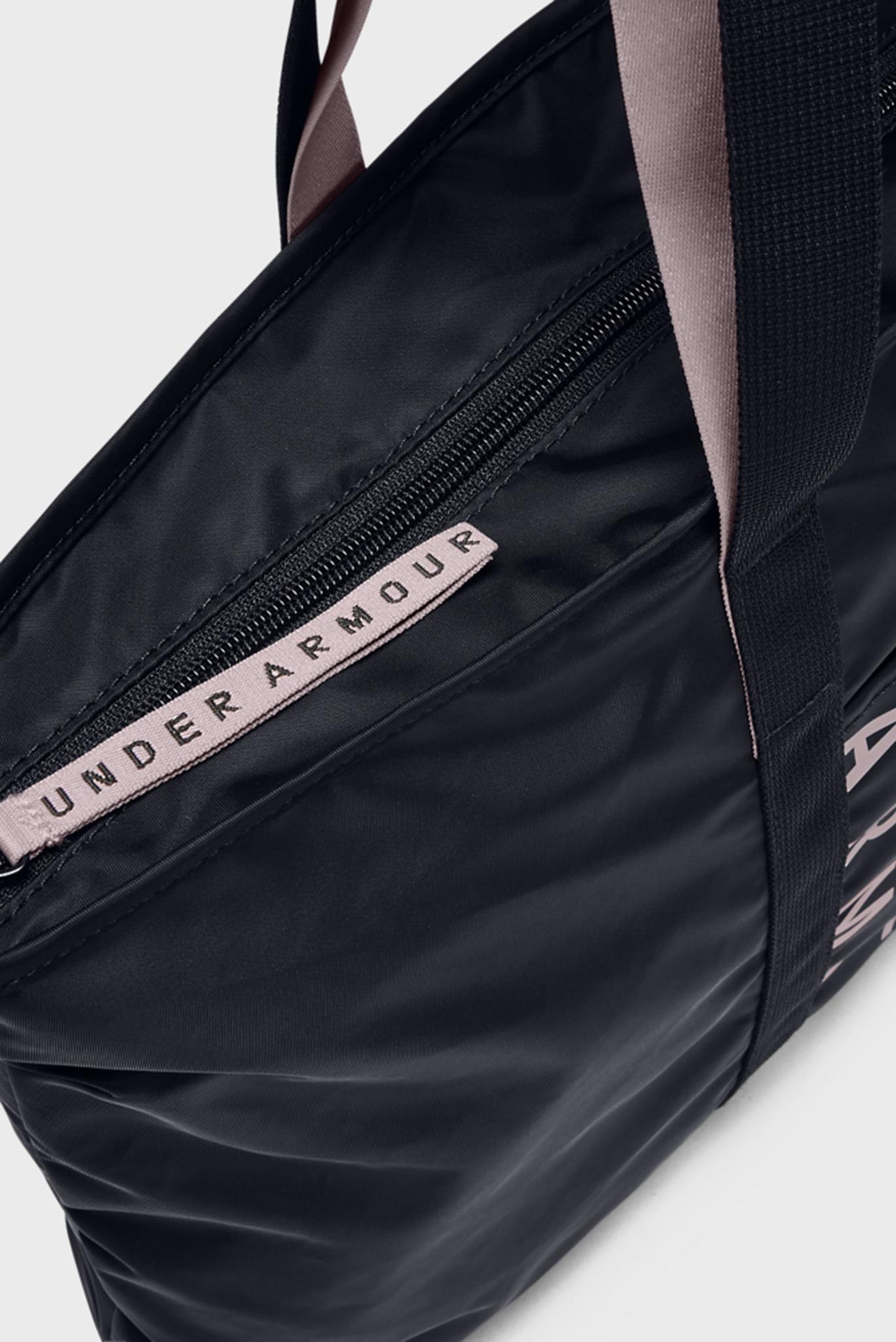 Женская черная спортивная сумка Women's Metallic Favorite Tote 2.0 Under Armour