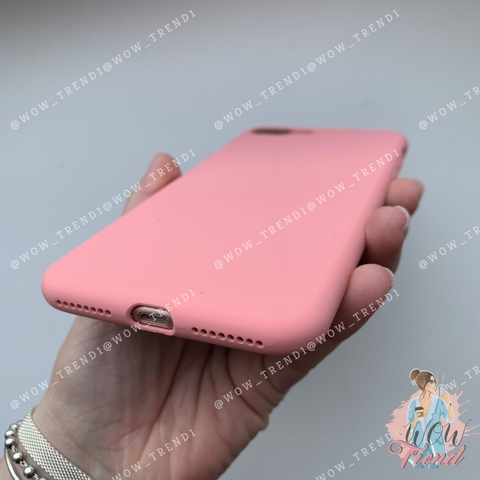 Чехол iPhone 7/8 Silicone Slim Case /pink/ No Logo