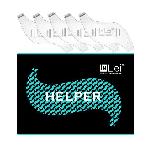 InLei® Набор (хелпер) упаковка 5 шт, гребешок для ресниц