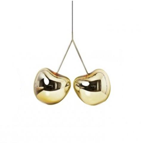 Подвесной светильник копия Сherry by Qeeboo (золотой)