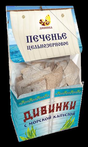 Печенье Дивинки с морской капустой, 150 гр. (Дивинка)