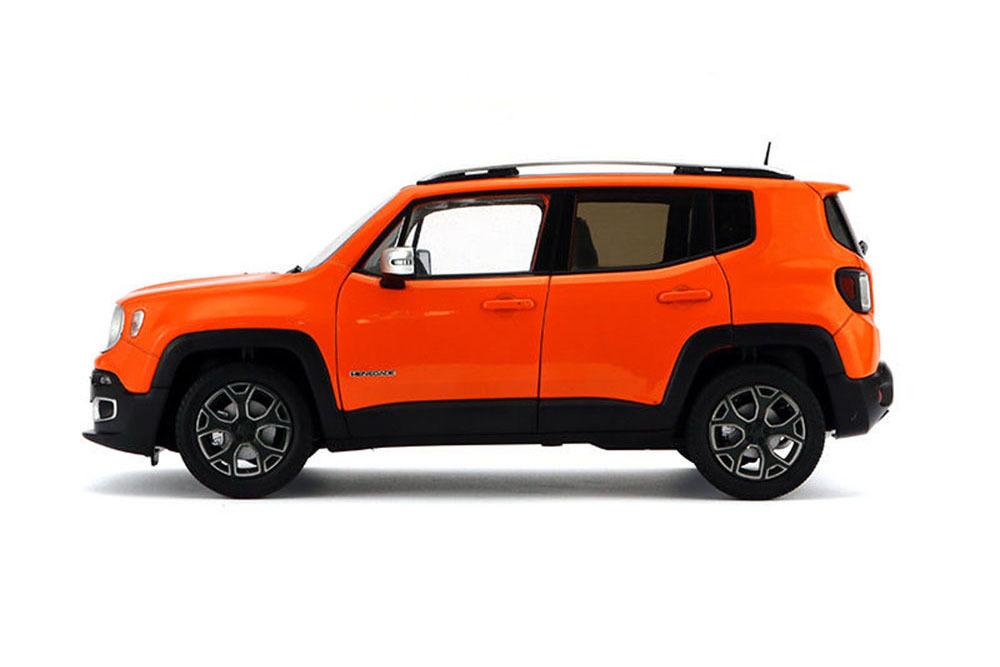 Коллекционная модель Jeep Renegade Orange 2016