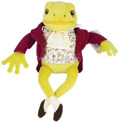 Jeremy Fisher Frogs Animal Plush Toy