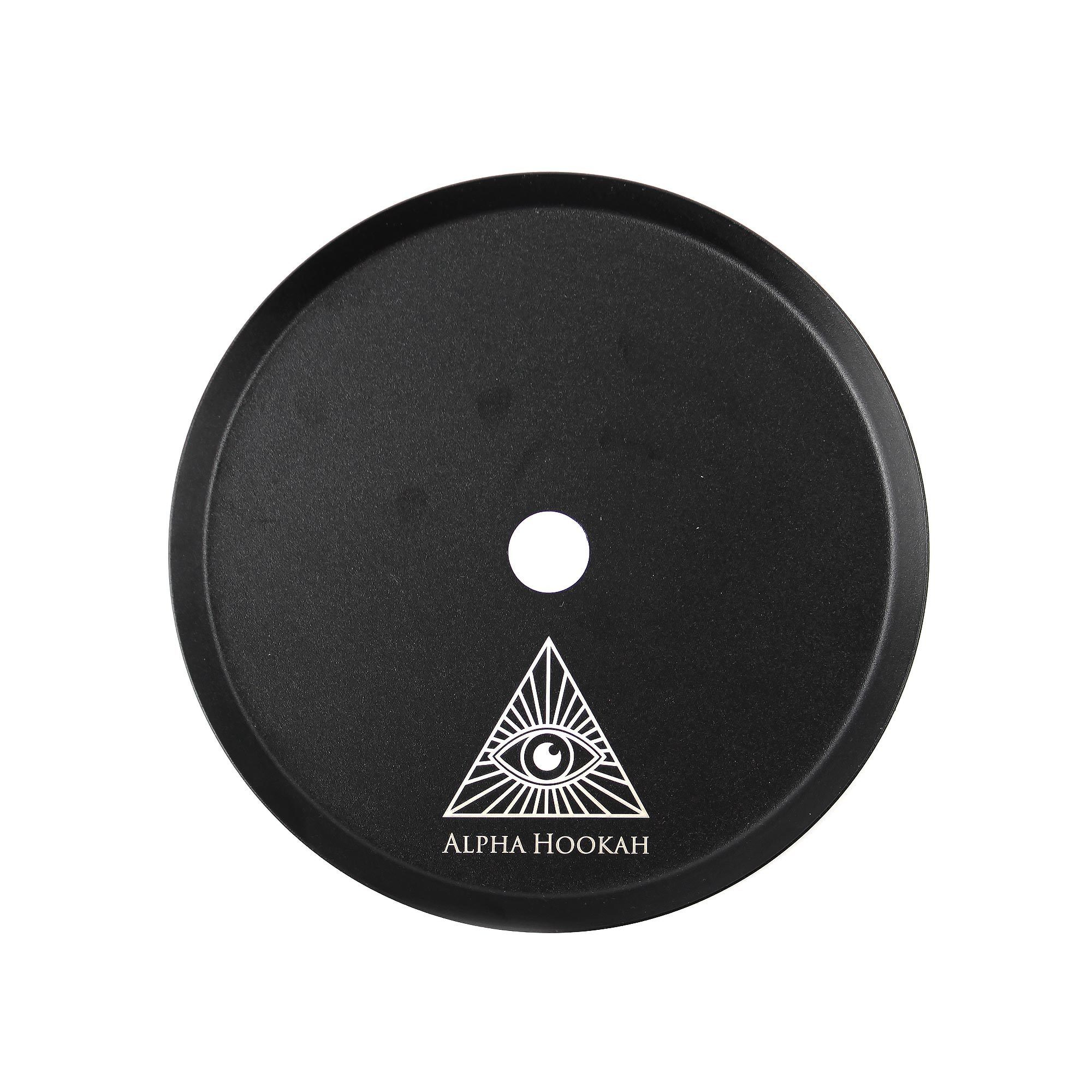 Блюдце Alpha Hookah Model X Black Matte