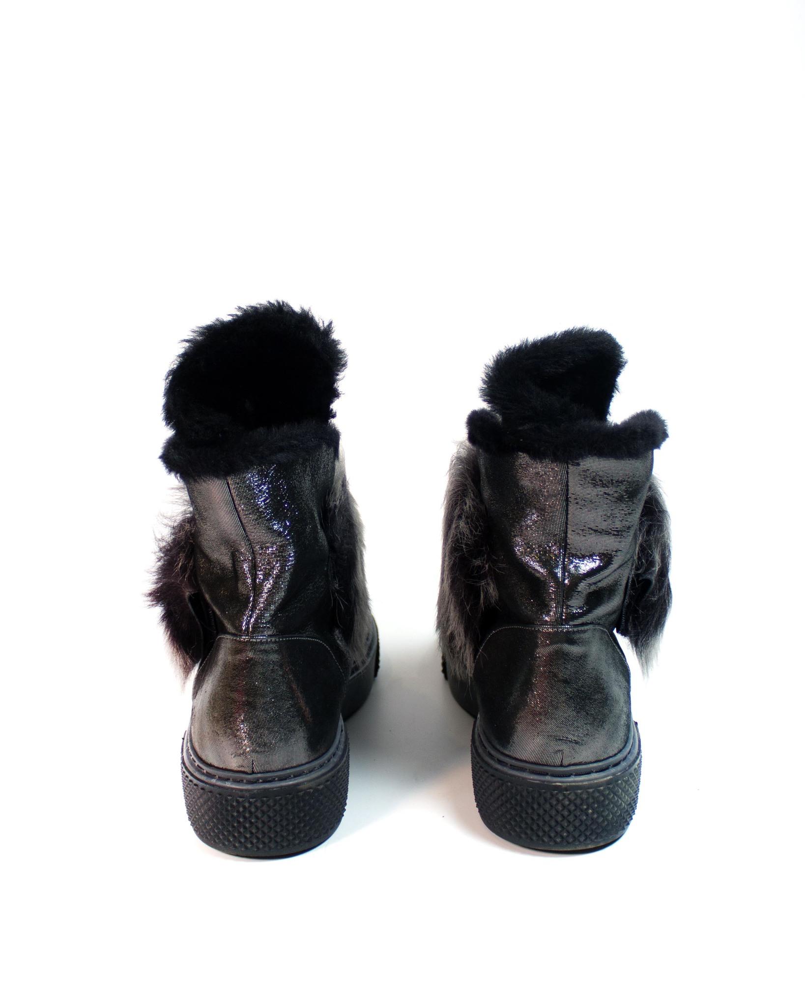блестящие ботинки SM