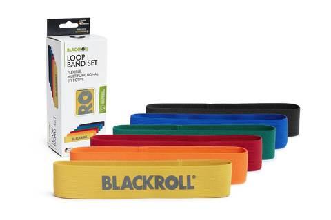 Набор текстильных мини-эспандеров BLACKROLL® LOOP BAND 30 см (6 шт.)