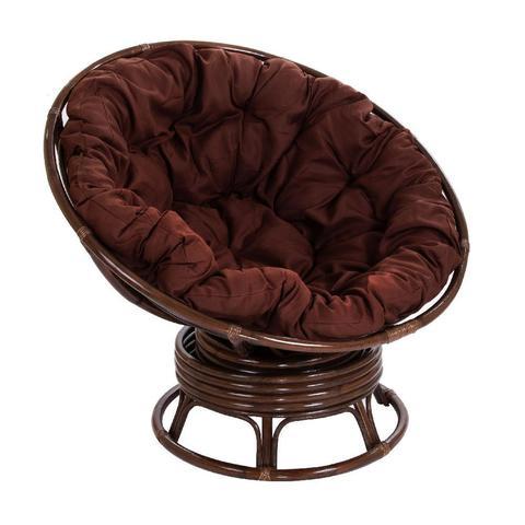 Кресло механическое PAPASAN (подушка твил, коричневого цвета)