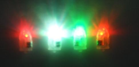 Светодиод для воздушных шаров, многоцветный
