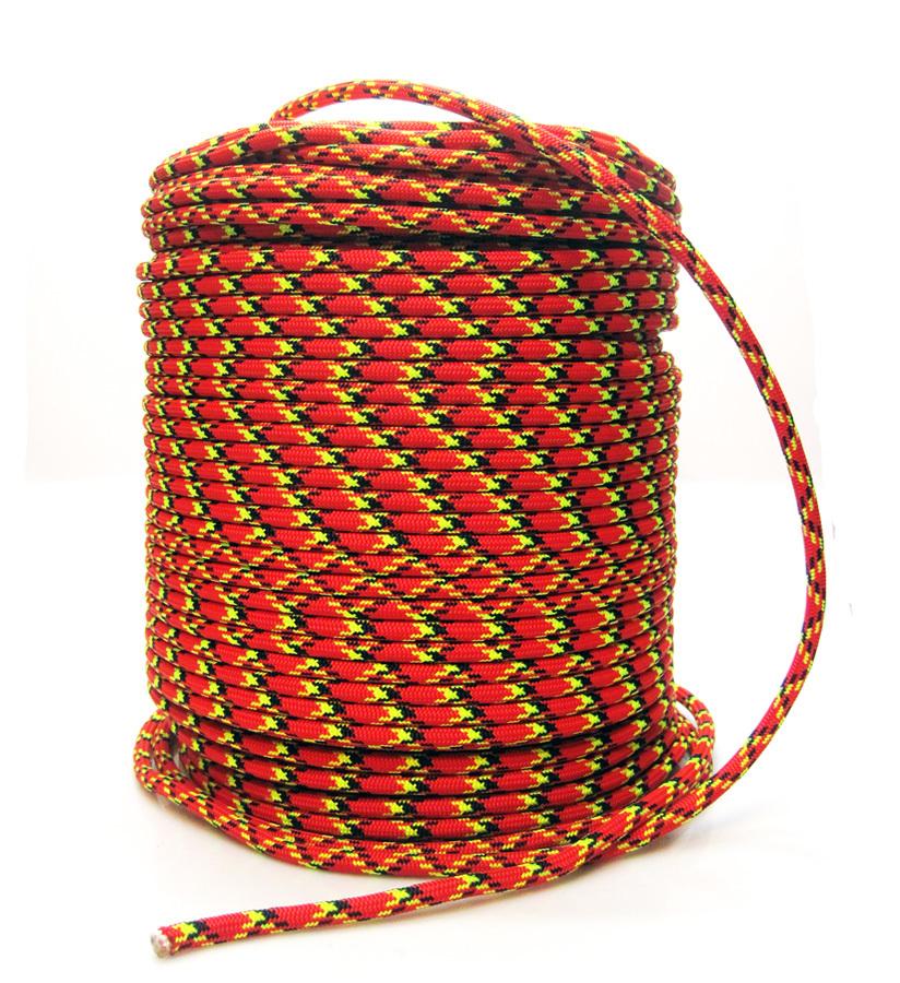 Веревка страховочно-спасательная статика D-9мм 32 прядная