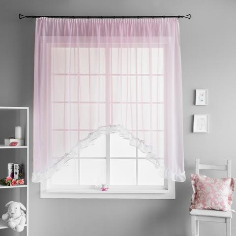 Готовая штора Lina розовый