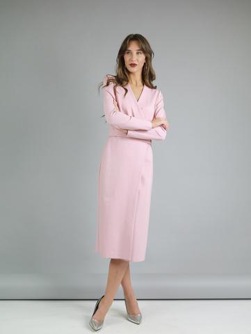 Платье из джерси  на запах