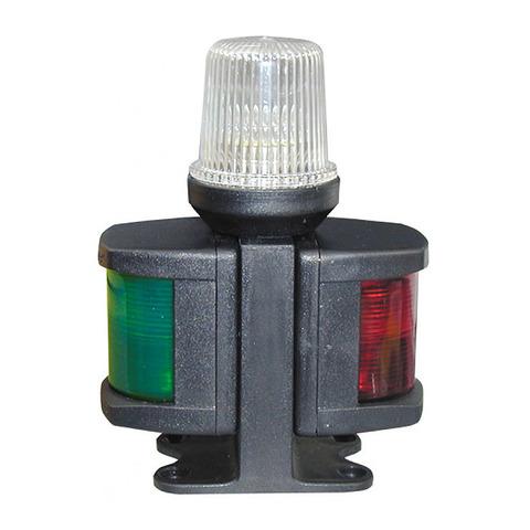 Огонь комбинированный трехцветный, черный корпус