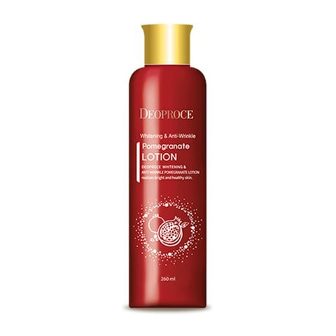 DEOPROCE POMEGRANATE Лосьон для лица антивозрастной DEOPROCE WHITENING AND ANTI-WRINKLE POMEGRANATE LOTION 260мл