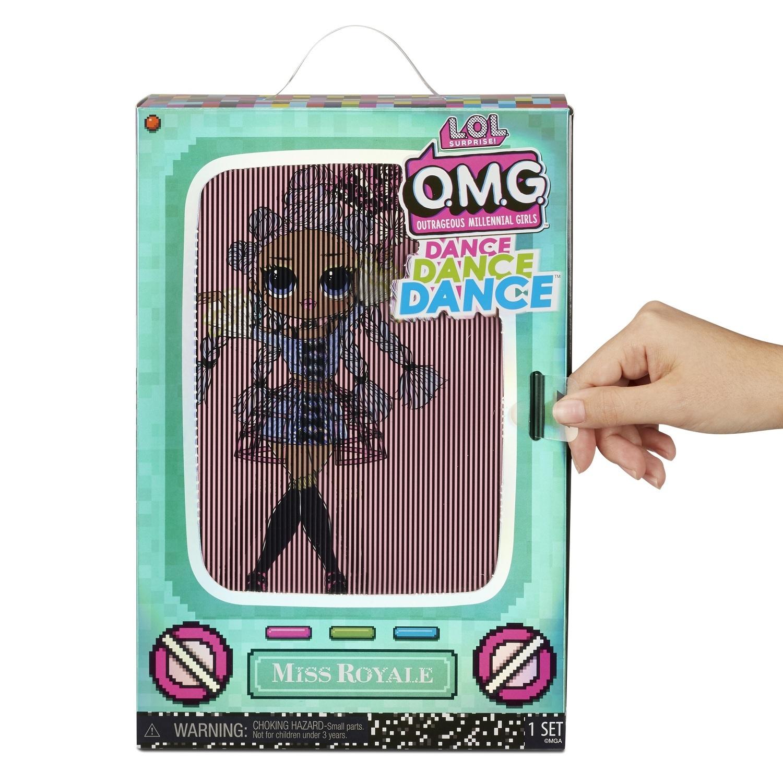 MGA Entertainment Кукла LOL Surprise O.M.G. Dance MISS ROYALE