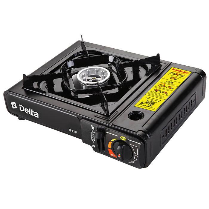 Плита газовая портативная DELTA D-211P