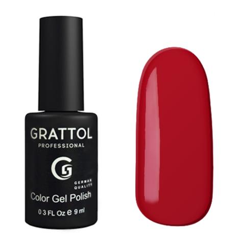 Гель-лак GRATTOL 085 Dark Red 9мл
