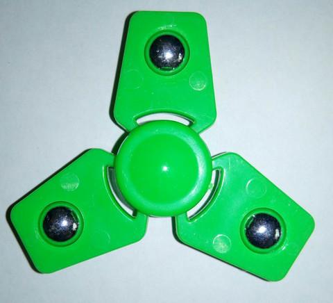 В наличии! Игрушка-антистресс спиннер Вертолёт зелёный
