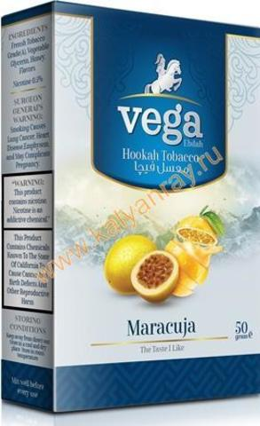 Табак Vega Маракуйя в пачке 50 грамм
