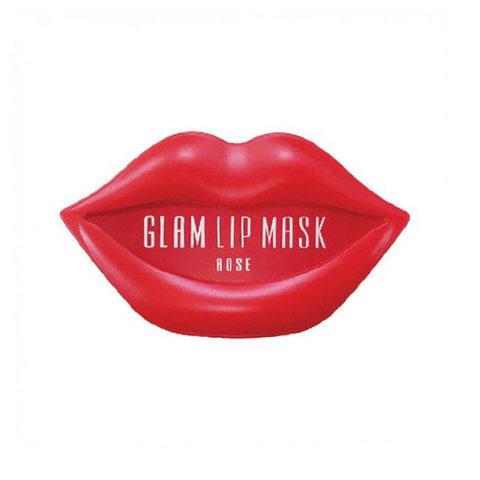 Beauugreen Hydrogel Glam Lip Mask Rose Патчи для губ с экстрактом розы
