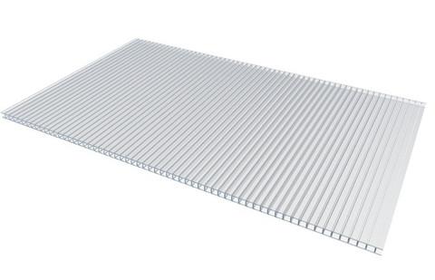 Сотовый поликарбонат 3.7 мм прозрачный 2.1х6 м