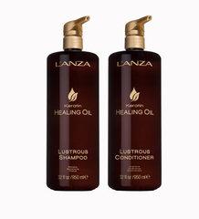Keratin Healing Oil шампунь + кондиционер 1000 мл