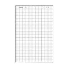 Бумага для флипчартов Attache 67.5х98 см белая 50 листов в клетку (80 г/кв.м)