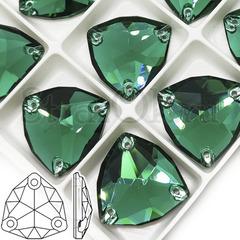 Купить пришивные стразы DeLux Emerald, Trilliant в Казани