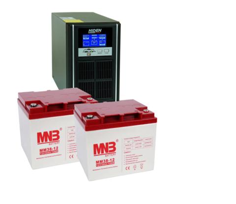 Комплект ИБП UDC9201H-АКБ MM38 (24в, 800Вт)