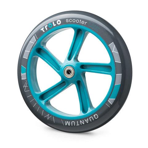 колесо 230 мм для Trolo Lux Quantum серый-аква