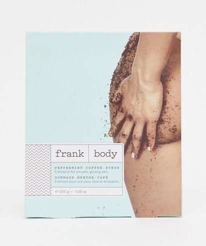 Скраб кофейный для лица и тела с освежающей мятой Frank Body Peppermint Coffee Scrub 200гр