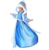 Платье Эльзы с капюшоном