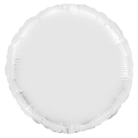 Шар круг 82 см белый