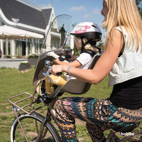 Картинка велокресло Bobike Exclusive maxi safari chic - 6