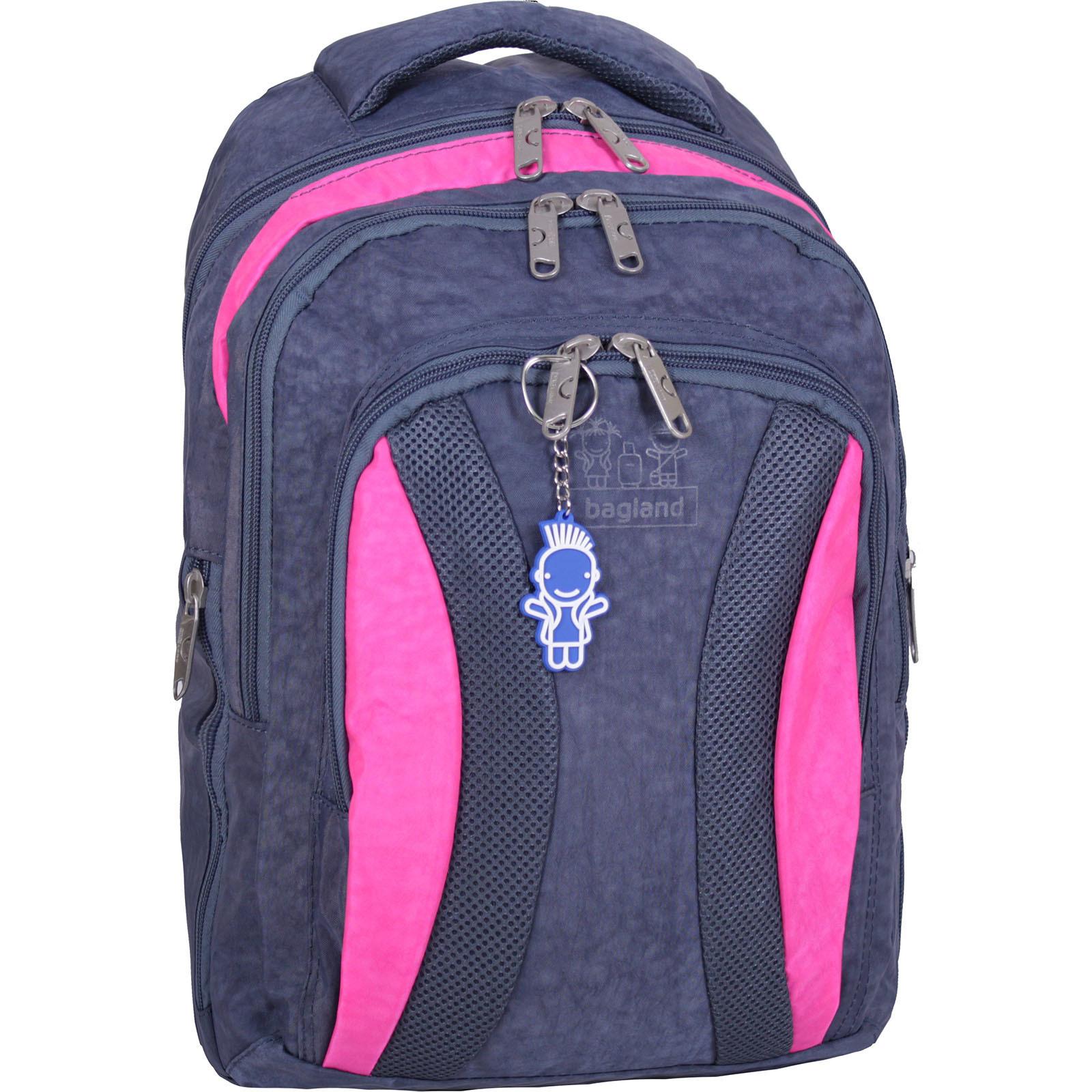 Городские рюкзаки Рюкзак Bagland Драйв 29 л. Серый / розовый (0018970) IMG_2154.JPG