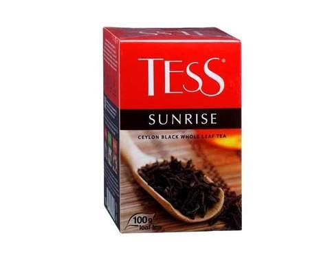 Чай черный листовой Tess Sunrise, 200 г