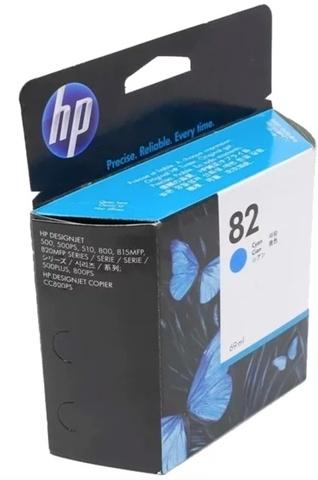 Оригинальный струйный HP C4911A 82 голубой