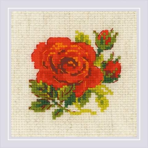 Набор для вышивания крестом «Розочка» (1843)