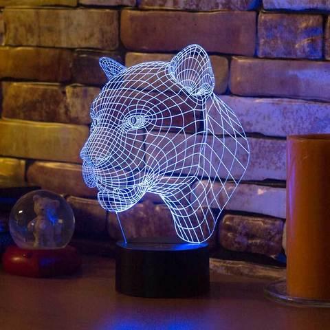 3D светильник Пума
