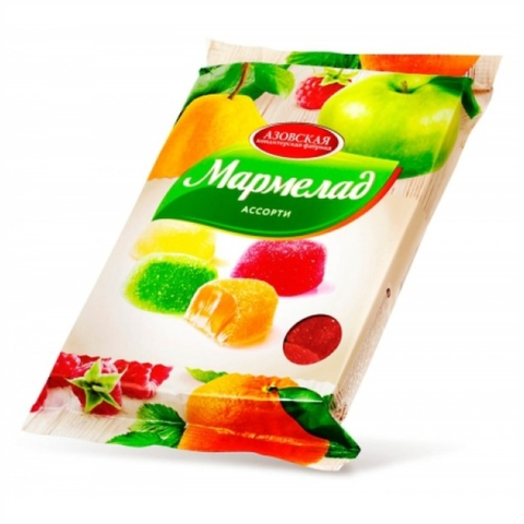 Мармелад АССОРТИ 300 г АКФ РОССИЯ