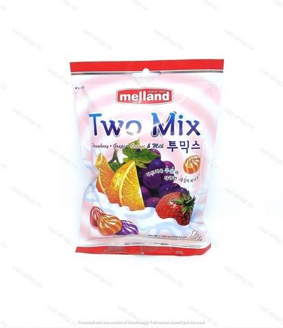 Карамель фруктовая со сливками Melland, Корея 100 гр.