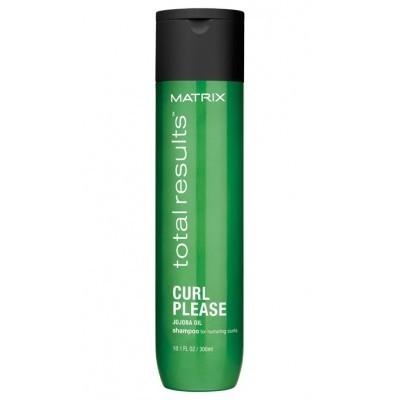 Matrix Total Results Curl Pleas: Шампунь для вьющихся волос (Shampoo), 300мл
