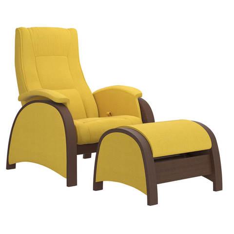 Кресло глайдер Balance 2 с пуфиком
