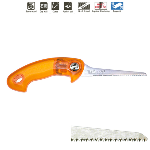 Ножовка ZetSaw 30025 по плитным материалам 90 мм; 16TPI; толщина 0,9 мм Z.30025