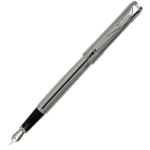Pierre Cardin Les Plus - Chrome, перьевая ручка, M