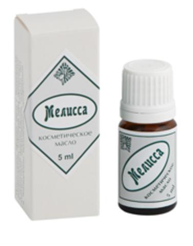 Косметическое масло Мелисса, 5 мл, Центр ароматерапии ИРИС