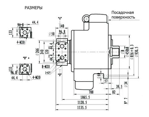 Гидромотор IPM12-16500