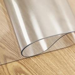 Скатерть прозрачная круглая 80 см. 2 мм.