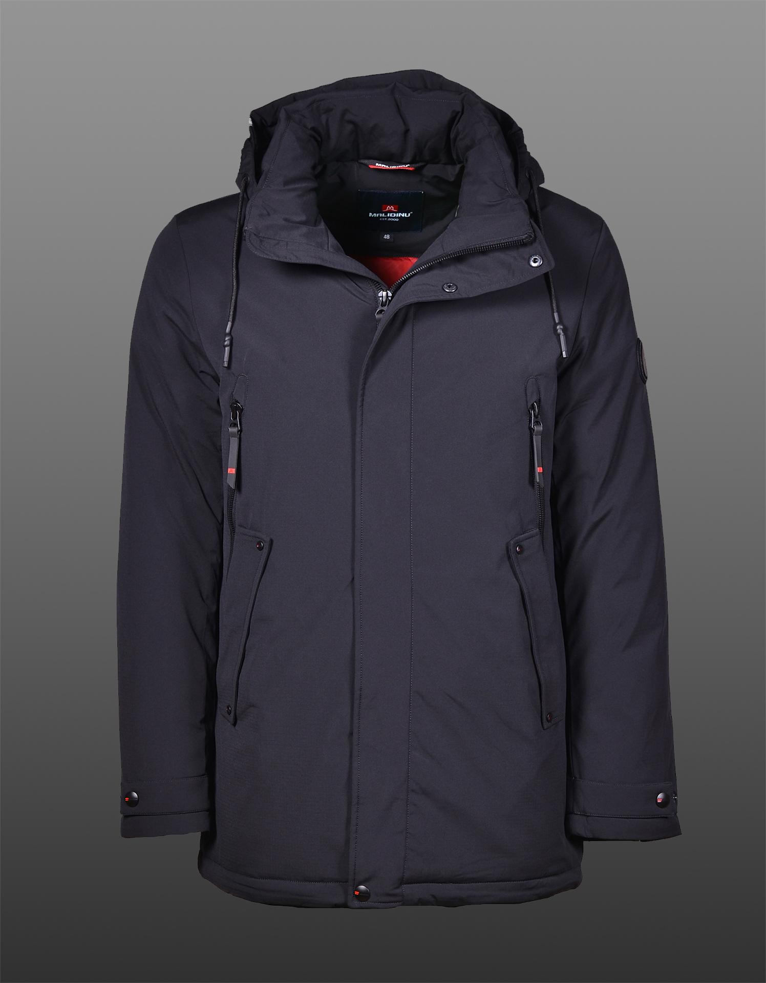 Куртка зимняя MALIDINU 21005 (черная)
