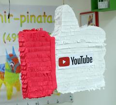 Пиньята лайк YouTube - мир-пиньята